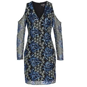 NWT SAM EDELMAN FLORAL EMBROIDERED DRESS
